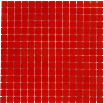 Milano Glasmozaiek Oranje Rood