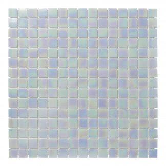 Milano Glasmozaiek Licht Blauw Parelmoer