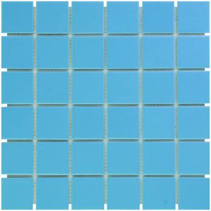 Torino Keramisch Mozaiek Blauw Glanzend