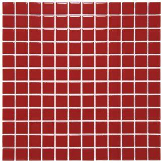Torino Keramisch Mozaiek Rood Glanzend