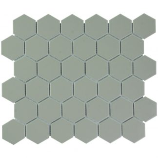 Torino Keramisch Mozaiek Taupe Glanzend