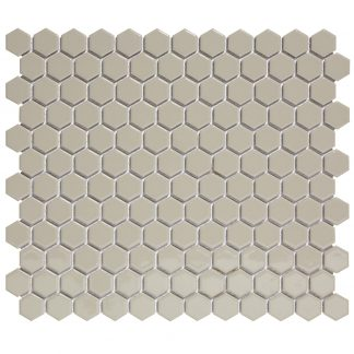 Torino Keramisch Mozaiek Grijs Hexagon
