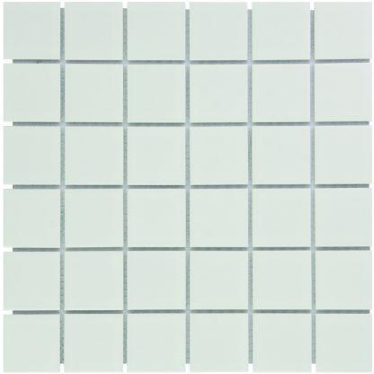 Torino Keramisch Mozaiek Wit Mat Vierkant