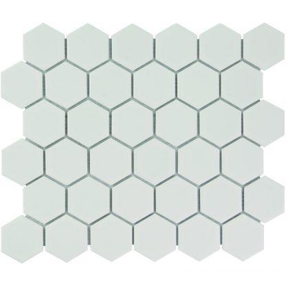 Torino Keramisch Mozaiek Mat Wit Vierkant