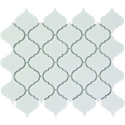 Rome Keramisch Mozaiek Extra Wit Glanzend 52 x 52