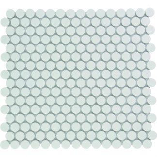 Valencia Extra Wit Glanzend Keramisch Mozaiek Rond 19 MM