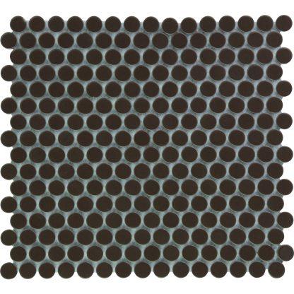 Valencia Bruin Keramisch Mozaiek Rond 19 MM