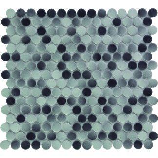 Valencia Grijs Mix Keramisch Mozaiek Rond 19 MM